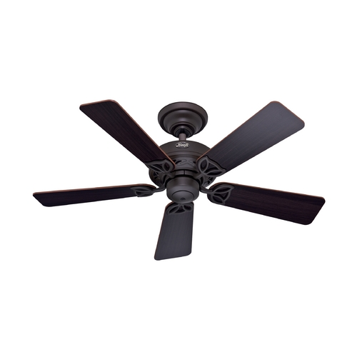 Hunter Fan Company Hunter Fan Company Hudson New Bronze Ceiling Fan Without Light 52067