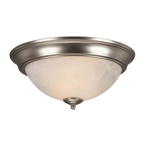 Jeremiah Lighting Jeremiah Brushed Satin Nickel Flushmount Light X213-BN
