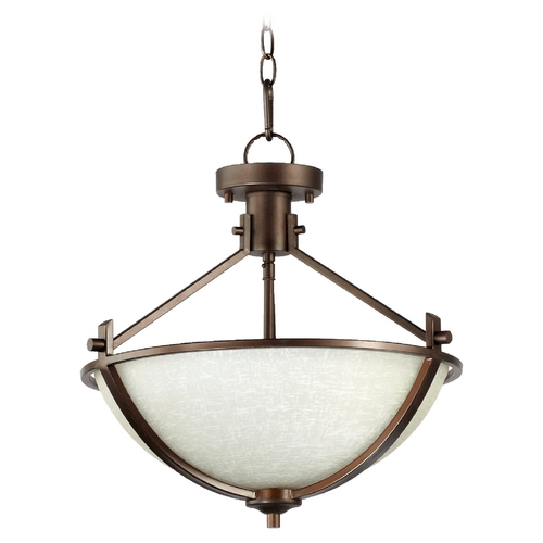 Quorum Lighting Quorum Lighting Winslet Ii Oiled Bronze Pendant Light 2829-18186