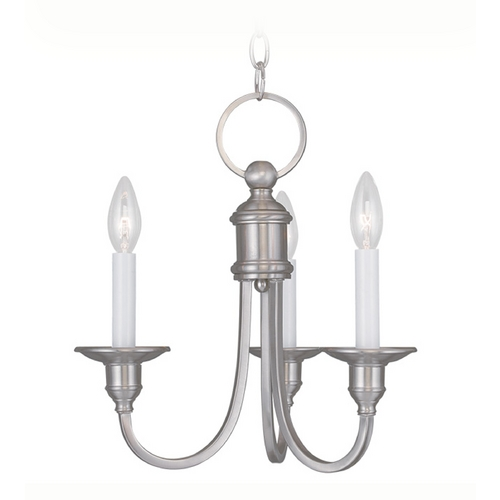 Livex Lighting Livex Lighting Cranford Brushed Nickel Mini-Chandelier 5143-91