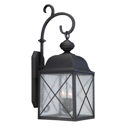 Nuvo Lighting Nuvo Lighting Wingate Textured Black Outdoor Wall Light 60/5623