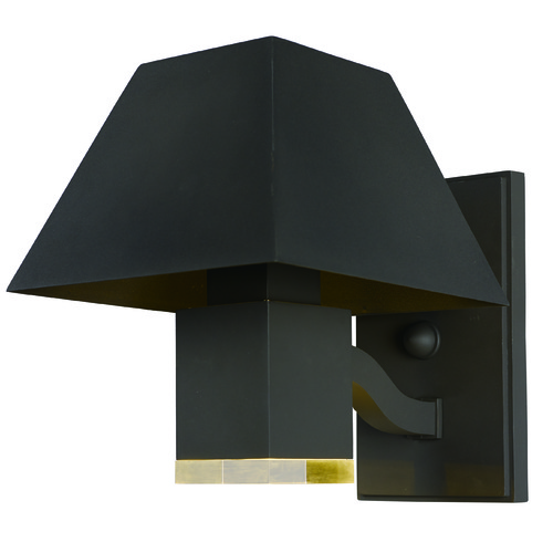 Maxim Lighting Maxim Lighting Pavilion Architectural Bronze LED Outdoor Wall Light 53514CLABZ