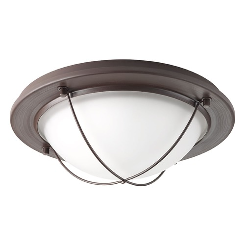 Progress Lighting Progress Lighting Portal LED Antique Bronze LED Flushmount Light P3658-2030K9