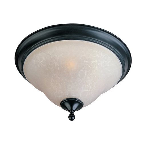 Maxim Lighting Maxim Lighting Linda Black Flushmount Light 11799ICBK