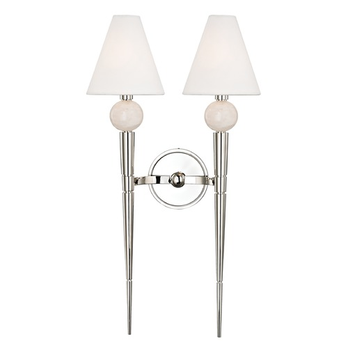 Hudson Valley Lighting Hudson Valley Lighting Vanessa Polished Nickel Sconce 4982-PN