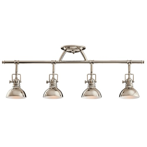 Kichler Lighting Kichler Adjustable Rail Light for Ceiling or Wall Mount 7704PN