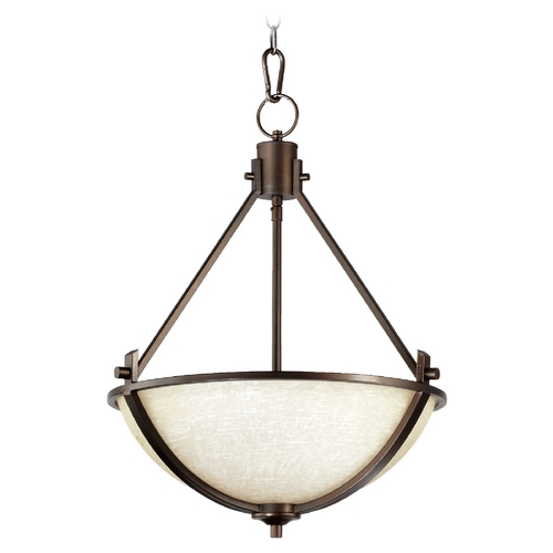 Quorum Lighting Quorum Lighting Winslet Ii Oiled Bronze Pendant Light 8129-3-186