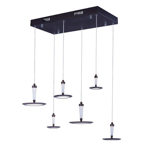 ET2 Lighting Hilite 6-Light LED Pendant E21166-01BZ