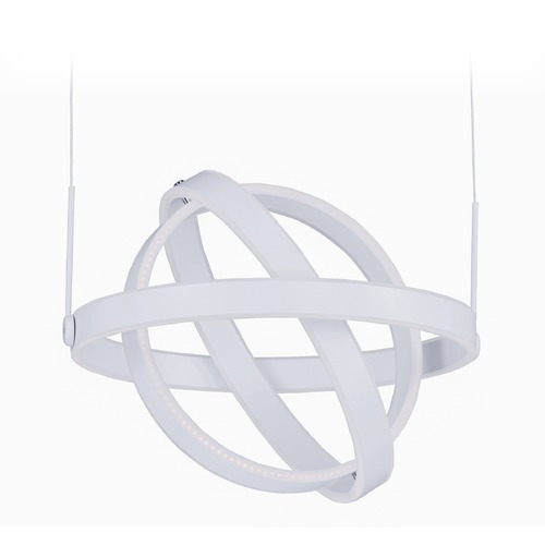 ET2 Lighting Gyro LED Matte White LED Pendant Light E24582-MW