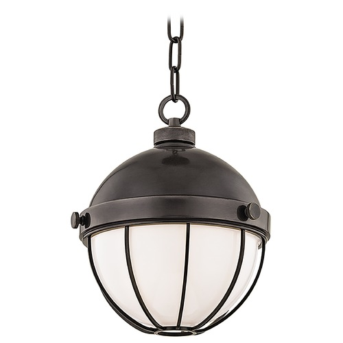 Hudson Valley Lighting Hudson Valley Lighting Sumner Old Bronze Mini-Pendant Light with Bowl / Dome Shade 2309-OB