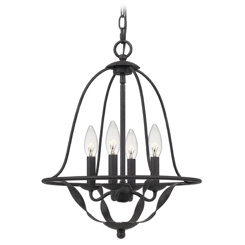 Quoizel Lighting Quoizel Lighting Bradbury Grey Ash Mini-Chandelier BDB5016GK