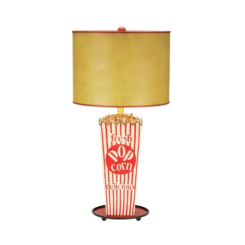 Sterling Lighting Table Lamp with Beige / Cream Paper Shade 84-026