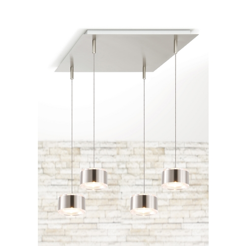 Holtkoetter Lighting Holtkoetter Modern Low Voltage Multi-Light Pendant Light 4-Lights C8410 S006 GB60 SN