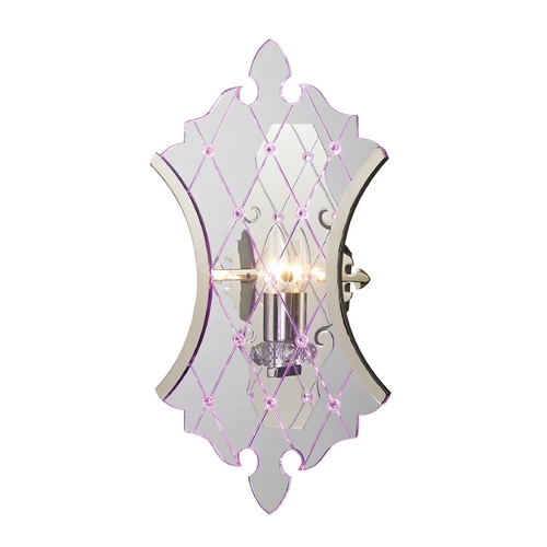 Elk Lighting Sconce Wall Light in Polished Nickel Finish 31410/1