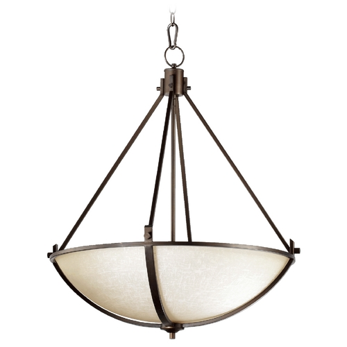 Quorum Lighting Quorum Lighting Winslet Ii Oiled Bronze Pendant Light 8129-4-186