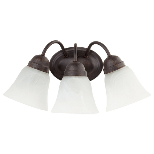 Quorum Lighting Quorum Lighting Toasted Sienna Bathroom Light 5403-3-44