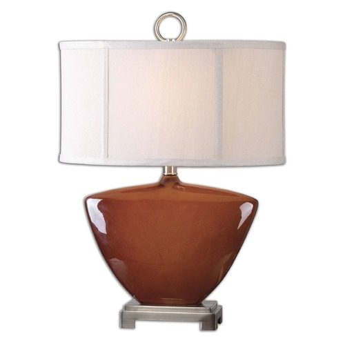Uttermost Lighting Uttermost Ceadda Rust Red Lamp 26178-1