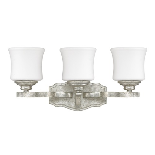 Capital Lighting Capital Lighting Blair Antique Silver Bathroom Light 8553AS-299