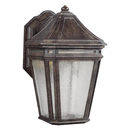 Feiss Lighting Feiss Lighting Londontowne Weathered Chestnut LED Outdoor Wall Light OL11300WCT-LED