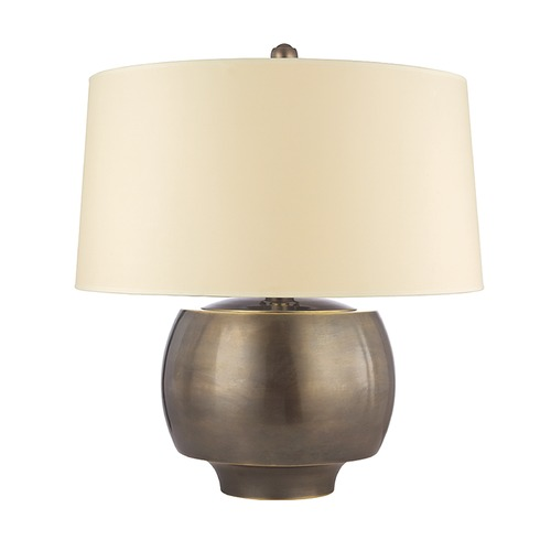 Hudson Valley Lighting Hudson Valley Lighting Holden Distressed Bronze Table Lamp with Drum Shade L164-DB