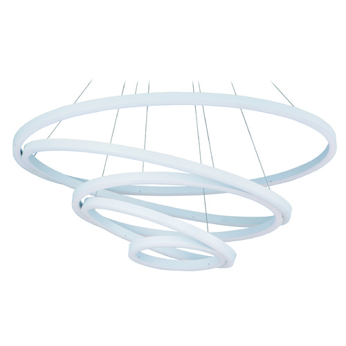 ET2 Lighting Cirque Matte White LED Pendant Light E22849-MW