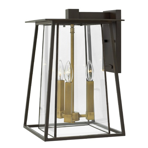 Hinkley Lighting Hinkley Lighting Walker Buckeye Bronze Outdoor Wall Light 2105KZ