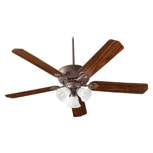 Quorum Lighting Quorum Lighting Chateaux Uni-Pack Toasted Sienna Ceiling Fan with Light 78605-1644