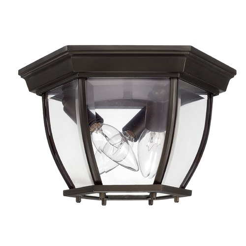 Capital Lighting Capital Lighting Outdoor Old Bronze Close To Ceiling Light 9802OB