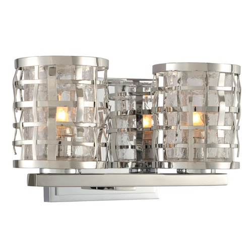 Kalco Lighting Kalco Lighting Bridgeport Brushed Stainless Steel Bathroom Light 308732SL