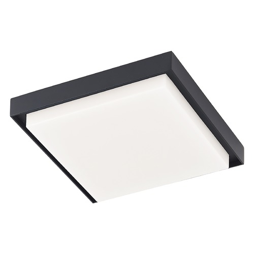 Kuzco Lighting Kuzco Lighting Ridge Black LED Close To Ceiling Light EC34509-BK