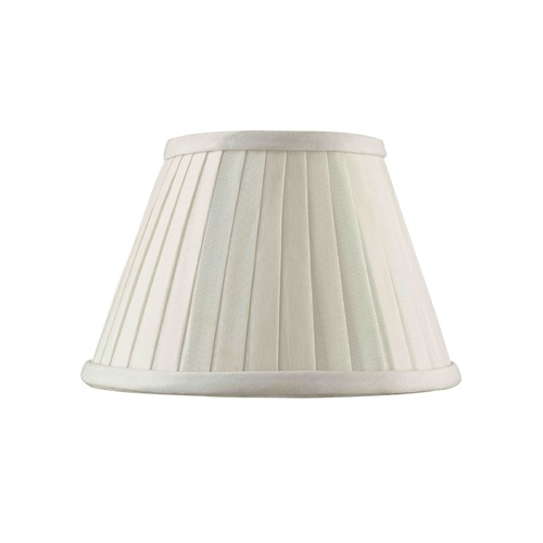 Design Classics Lighting Clip-On Empire Pleated White Lamp Shade SH9632