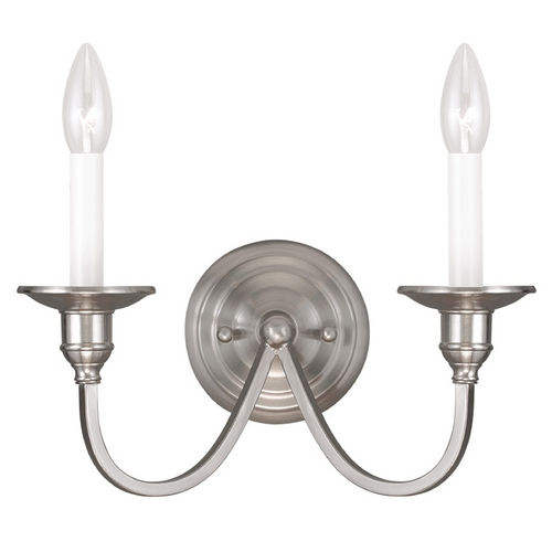 Livex Lighting Livex Lighting Cranford Brushed Nickel Sconce 5142-91