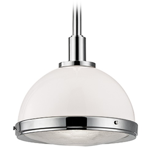 Hudson Valley Lighting Dalton 1 Light Pendant Light - Polished Nickel 7914-PN