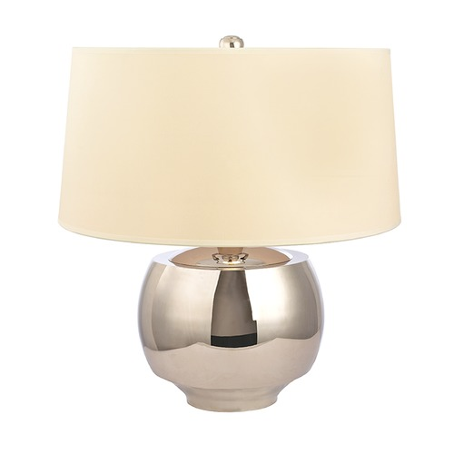 Hudson Valley Lighting Hudson Valley Lighting Holden Polished Nickel Table Lamp with Drum Shade L164-PN