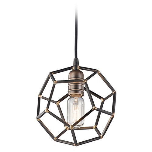 Kichler Lighting Kichler Lighting Rocklyn Mini-Pendant Light with Globe Shade 43719RS