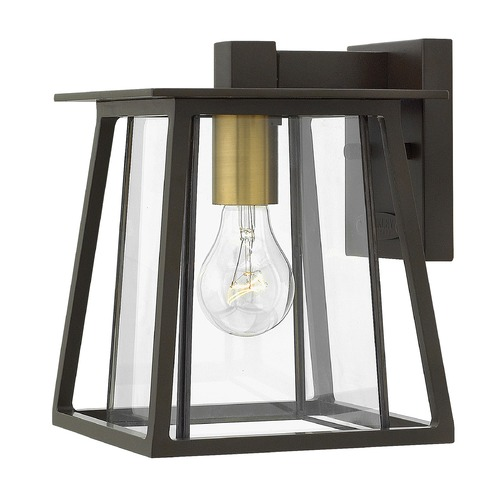 Hinkley Lighting Hinkley Lighting Walker Buckeye Bronze Outdoor Wall Light 2106KZ