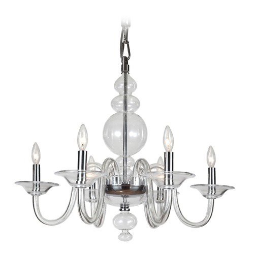 Crystorama Lighting Crystorama Lighting Harper Polished Chrome Chandelier 9846-CH-CL