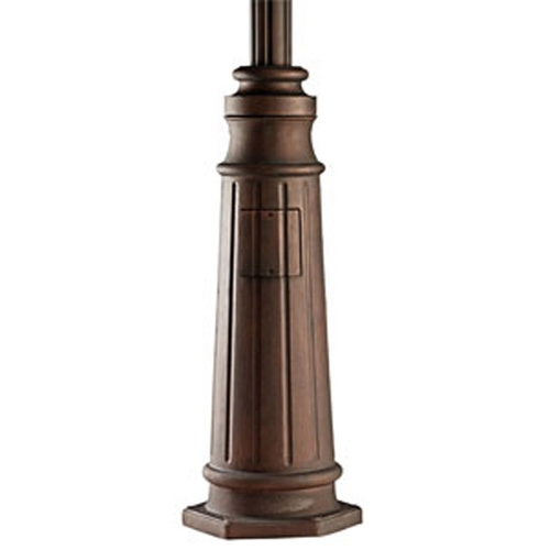 Kichler Lighting Kichler Post in Brown Stone Finish 9542BST