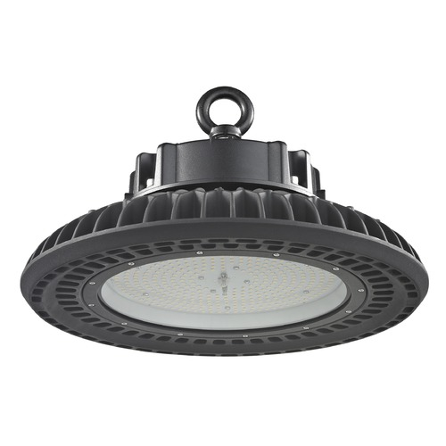 Recesso Lighting by Dolan Designs UFO LED High Bay Light Black 200-Watt 27840 Lumens 5000K 120 Degree Beam Spread HB01-200W-50-BK