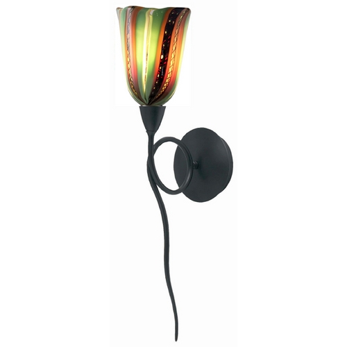 Oggetti Lighting Oggetti Lighting Amore Matte Black Sconce 18-5503F