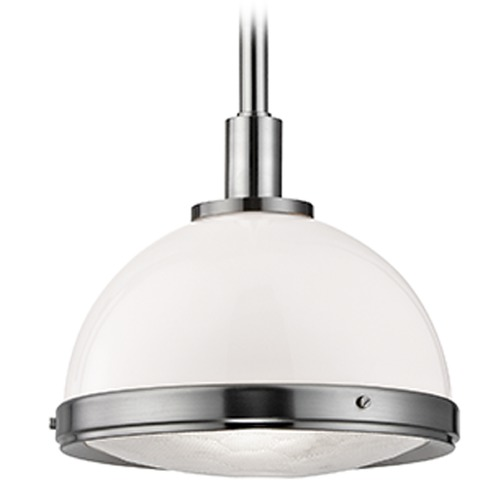 Hudson Valley Lighting Dalton 1 Light Pendant Light - Satin Nickel 7914-SN