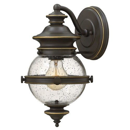 Hinkley Lighting Hinkley Lighting Saybrook Oil Rubbed Bronze Outdoor Wall Light 2340OZ