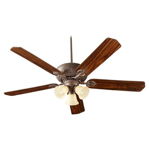 Quorum Lighting Quorum Lighting Chateaux Uni-Pack Toasted Sienna Ceiling Fan with Light 78605-1744