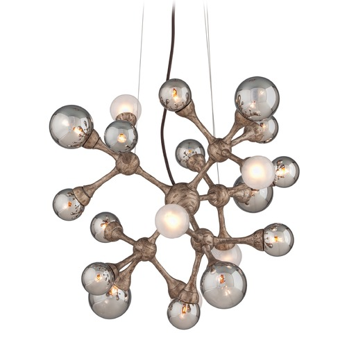 Corbett Lighting Corbett Lighting Element Vienna Bronze Pendant Light with Globe Shade 206-424