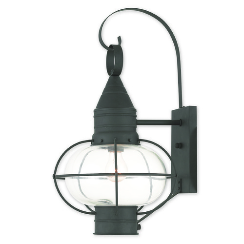 Livex Lighting Livex Lighting Newburyport Black Outdoor Wall Light 26904-04