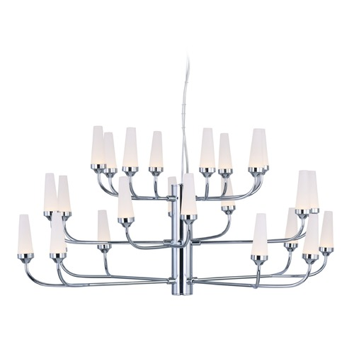 ET2 Lighting Candela LED Polished Chrome LED Chandelier E24363-09PC