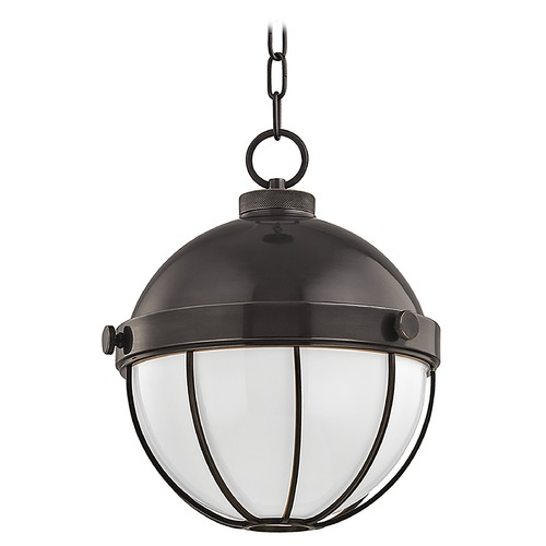 Hudson Valley Lighting Hudson Valley Lighting Sumner Old Bronze Pendant Light with Bowl / Dome Shade 2312-OB