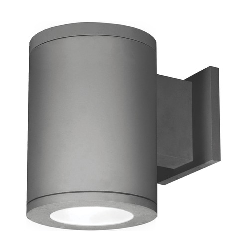 WAC Lighting 6-Inch Graphite LED Tube Architectural Wall Light 3500K 2500LM DS-WS06-S35S-GH