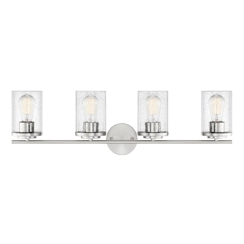 Savoy House Savoy House Lighting Marshall Polished Chrome Bathroom Light 8-8020-4-11