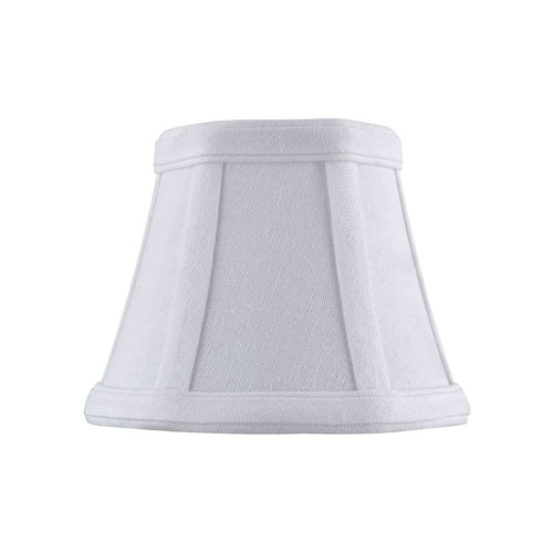 Design Classics Lighting Clip-On Empire Piping White Lamp Shade SH9629